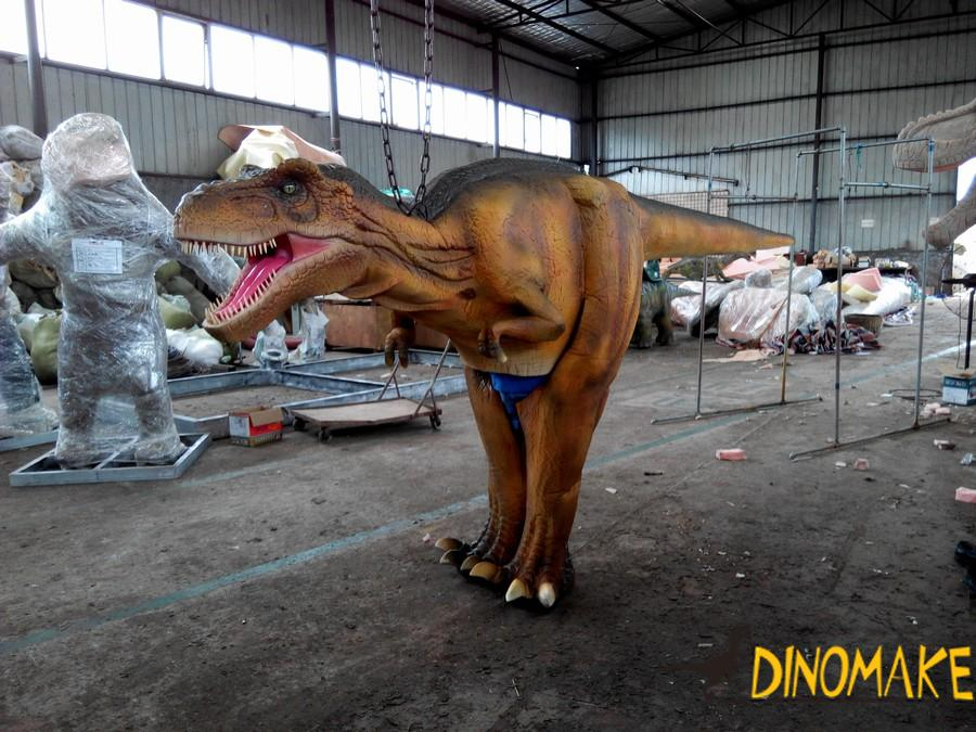Animatronic dinosaur costumes of T-Rex for sale to Japanese