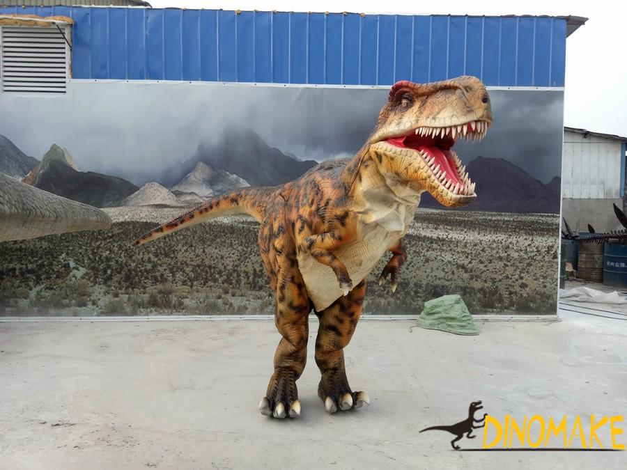 Animatronic dinosaur costumes sold during Christmas