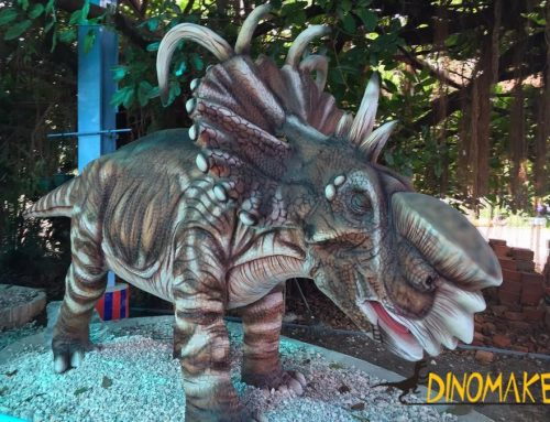 Large professional Animatronic dinosaur for children's entertainment