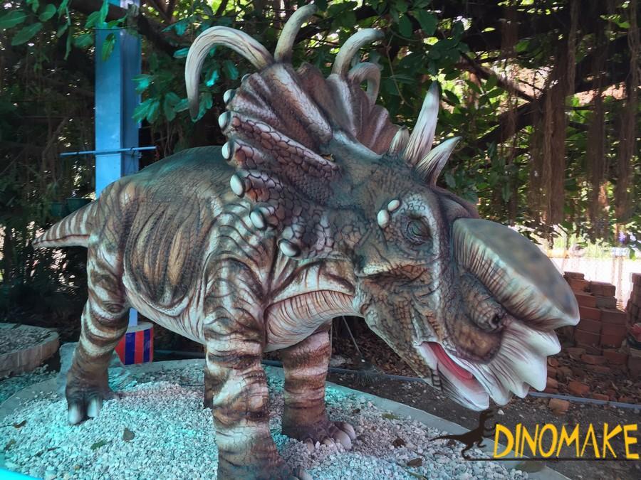 Animatronic dinosaur for children's entertainment