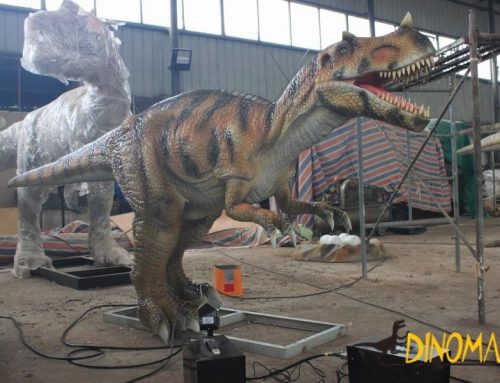 Animatronic dinosaur of Outdoor theme park