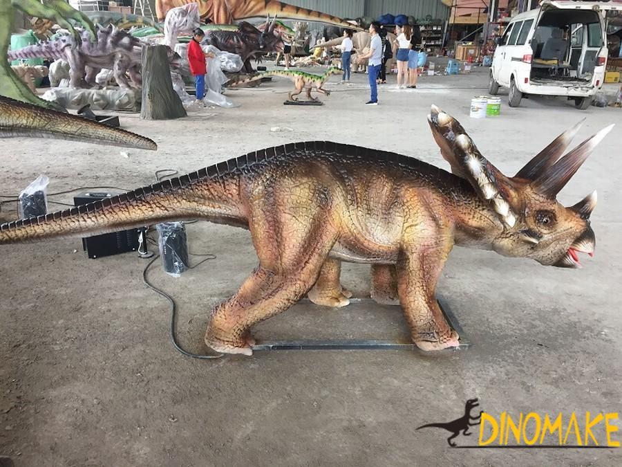 Animatronic dinosaur production