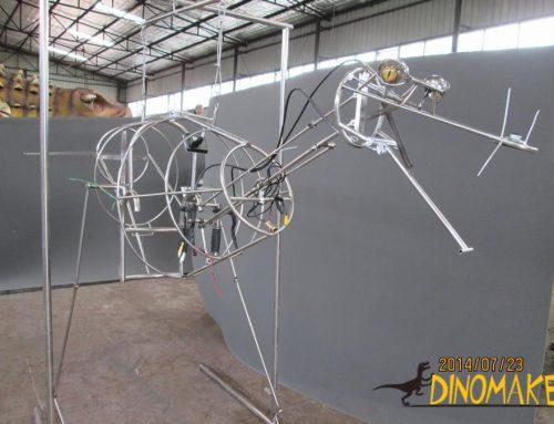 Animatronic dinosaur realistic T-Rex spit water Costume