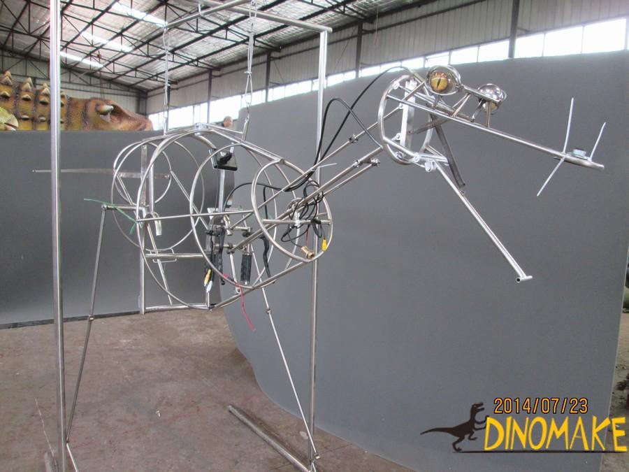 Animatronic dinosaur realistic spit water costume