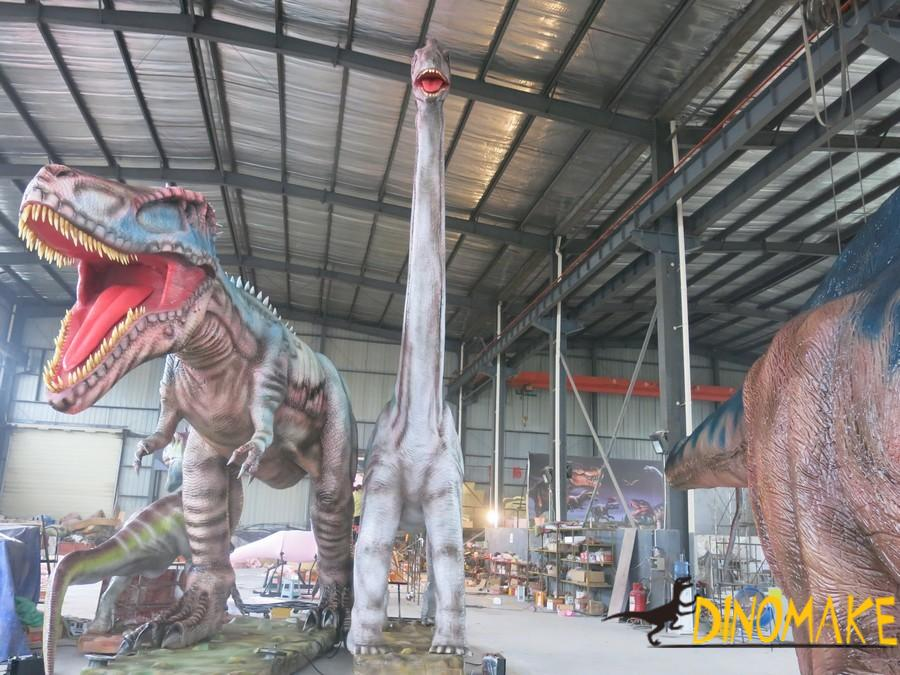 Animatronic dinosaur with motion and sound