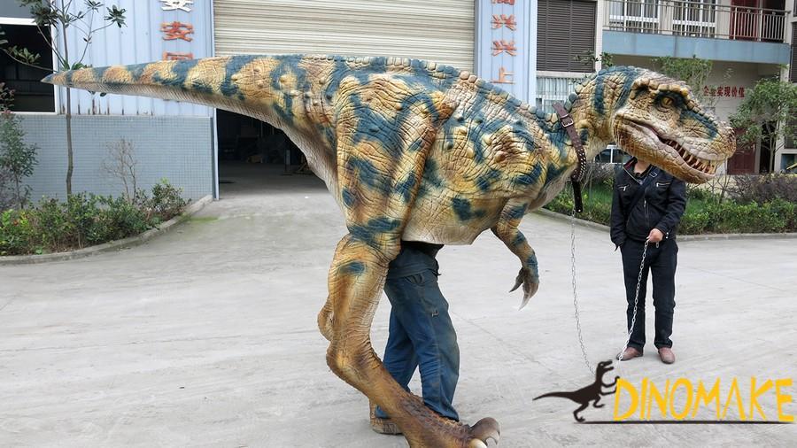 Animatronic walking dinosaur Costume