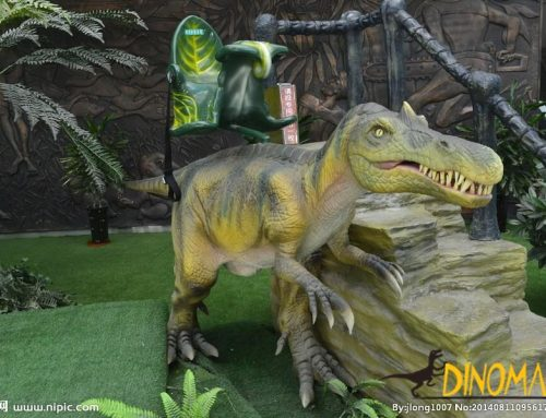 Machine amusement walking dinosaur ride for children