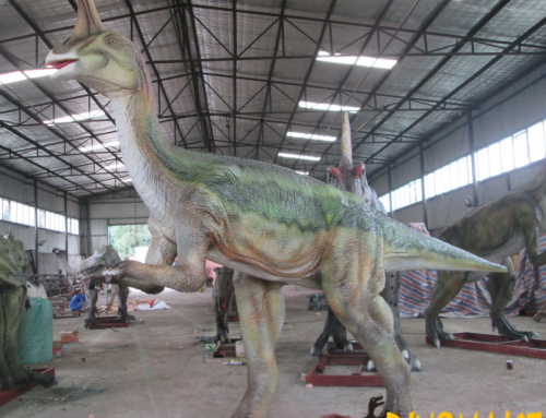 Attract visitors to theme parks with Animatronic dinosaur?