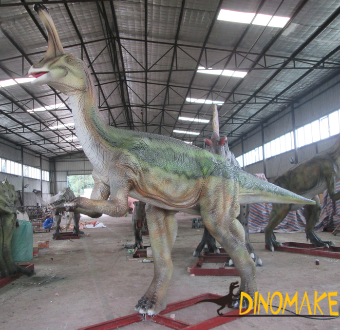 Attract visitors to theme park with Animatronic dinosaur product