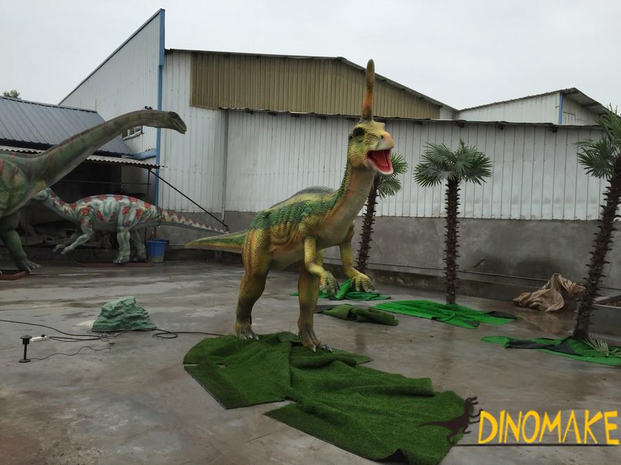 Attract visitors to theme park with Animatronic dinosaur