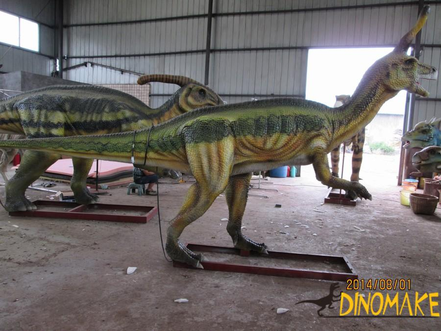 Attract visitors to theme park with Animatronic dinosaurs