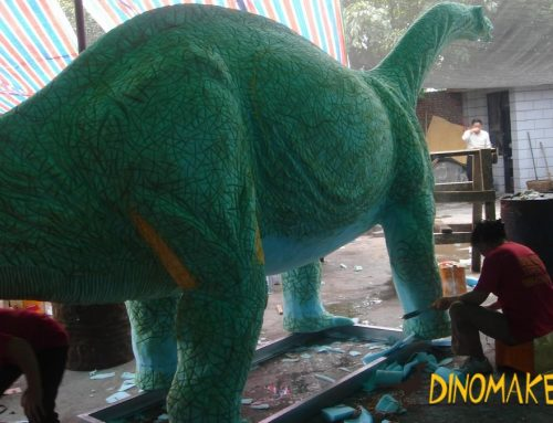 Attractive large Animatronic dinosaur product model