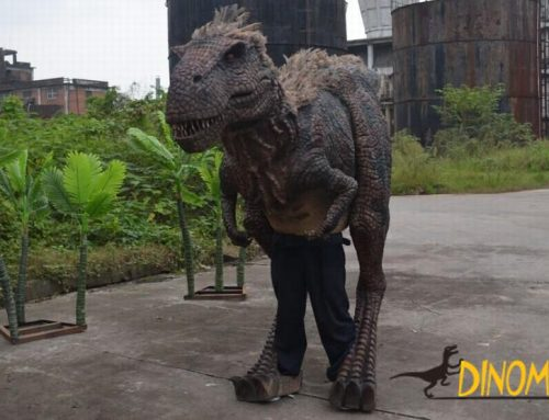 Basic characteristics of adult Animatronic dinosaur costume