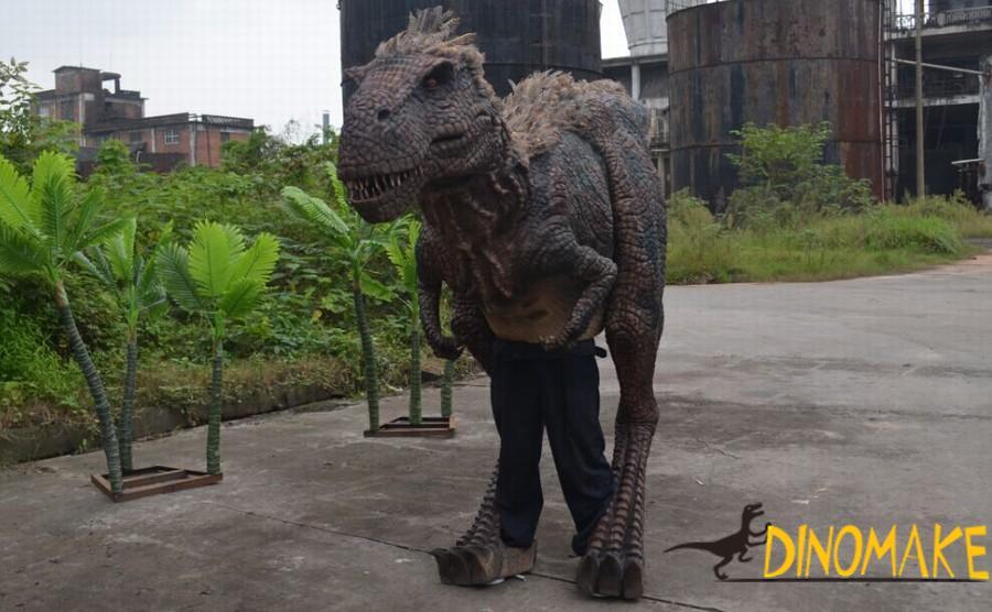 Basic characteristics of adult Animatronic dinosaur costume