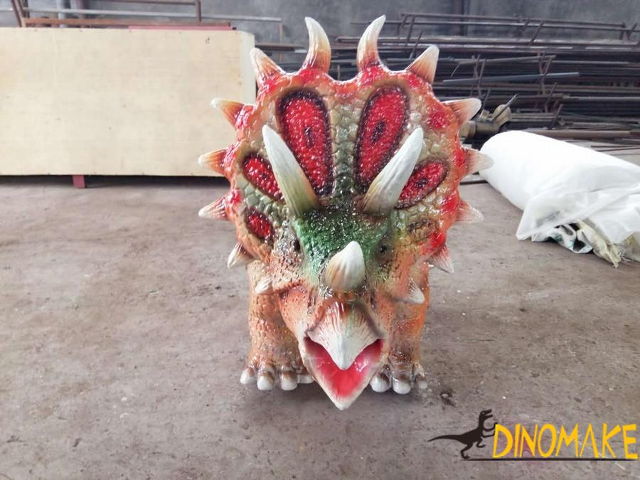 Children's amusement park Animatronic dinosaur ride