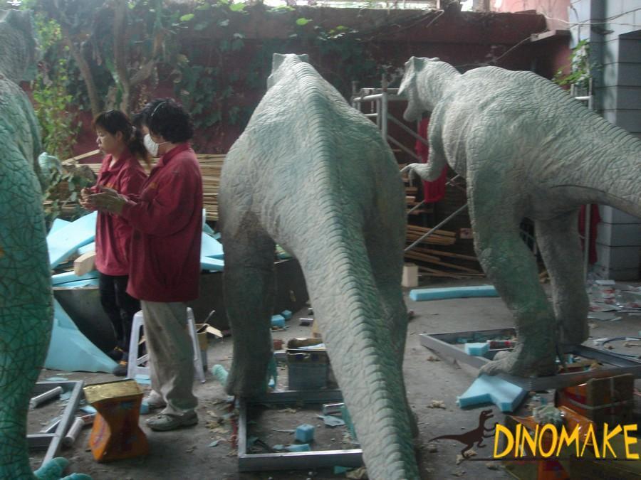 Chinese dinosaur factory sells Animatronic dinosaurs