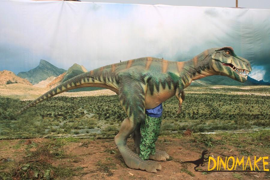 Customized Animatronic dinosaur costume