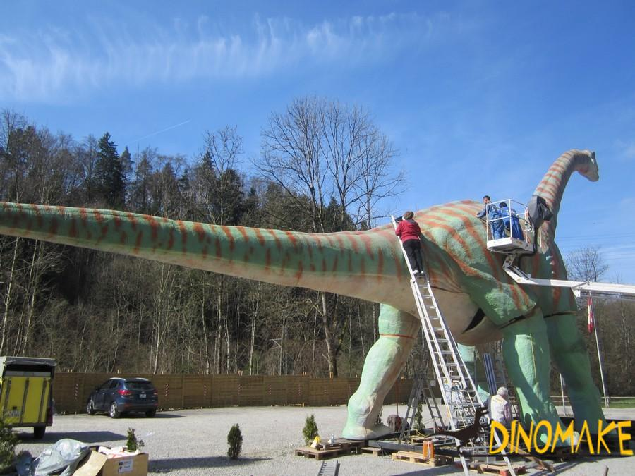 Customized product Animatronic dinosaurs for sale