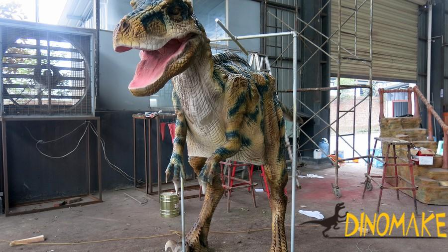 Customized realistic Animatronic dinosaur costume