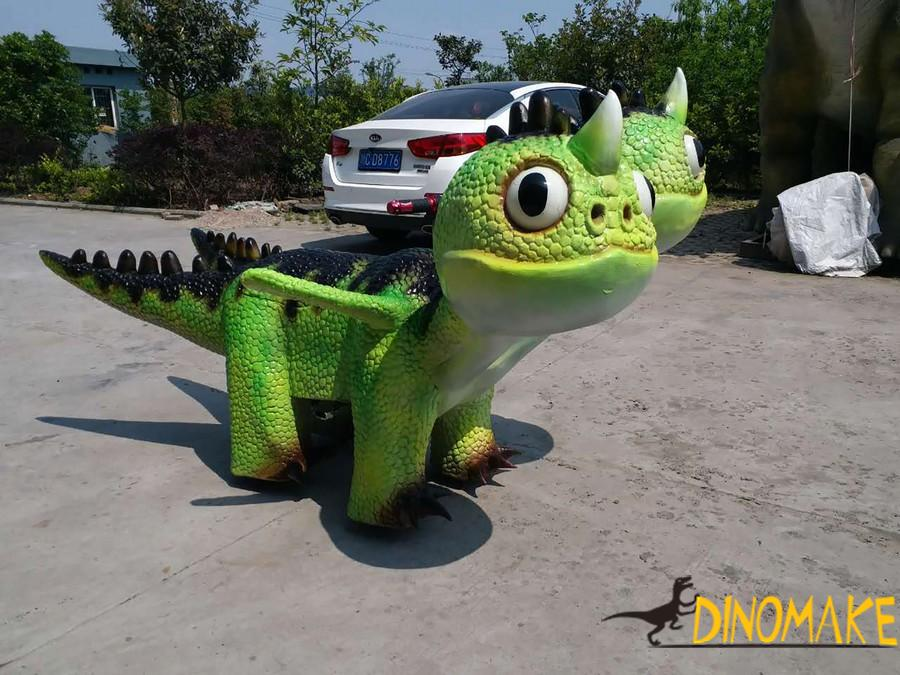 Dinosaur car of Shopping mall funny machine kiddie