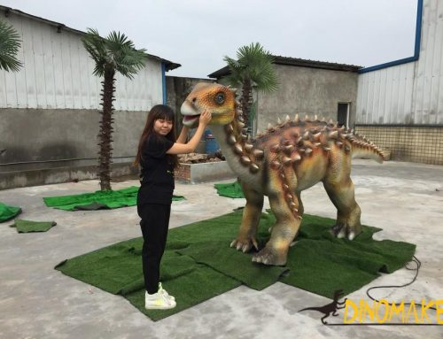 Dinosaur manufacturer Jurassic Park is still alive with Animatronic dinosaur
