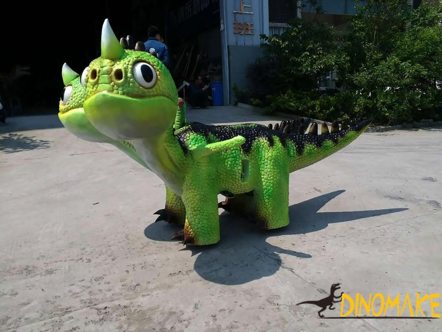 Dinosaur ride of Shopping mall funny machine kiddie