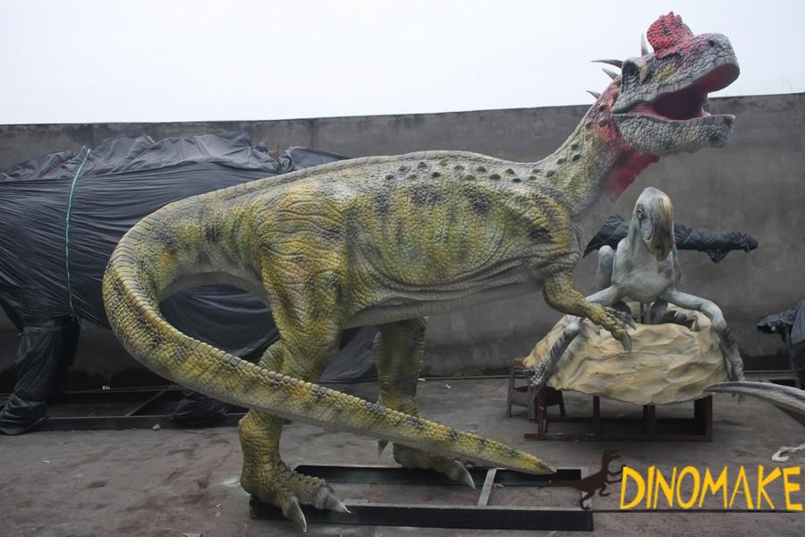 Dinosaurs can have minds if they were not extinct