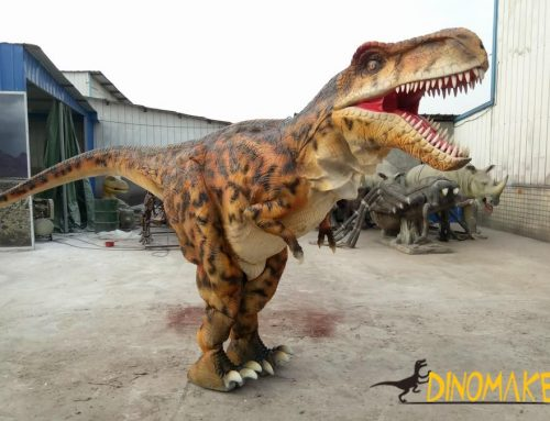 The Factory produced a set of realistic dinosaur costume for sale