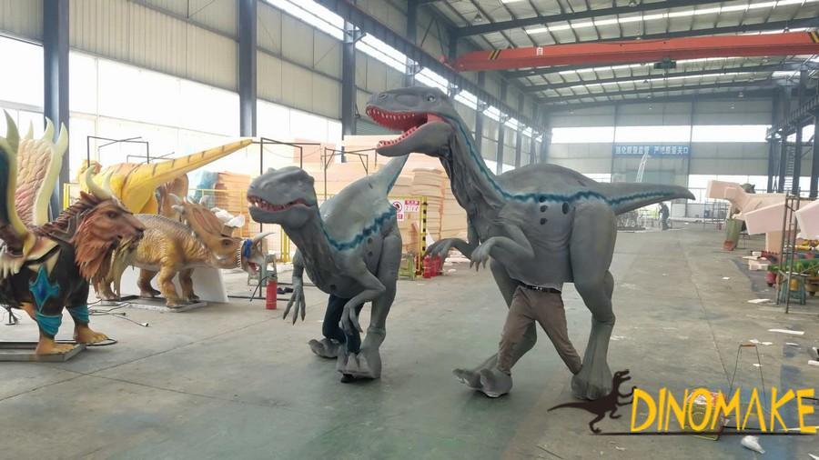 Festive Hot Halloween Dinosaur Costume