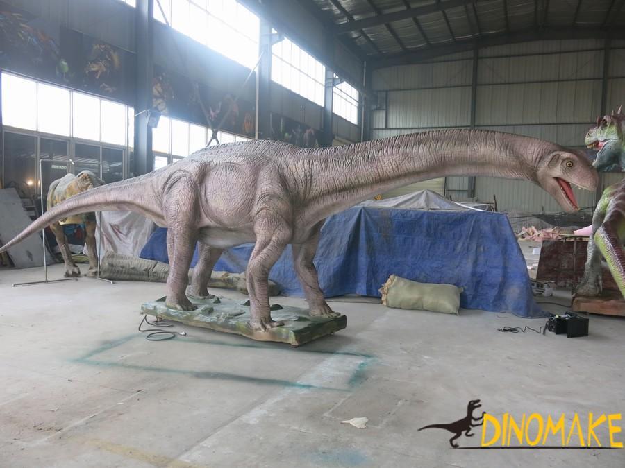 Fiberglass Dinosaur and Silicone Dinosaur Animatronic Dinosaur Model Making