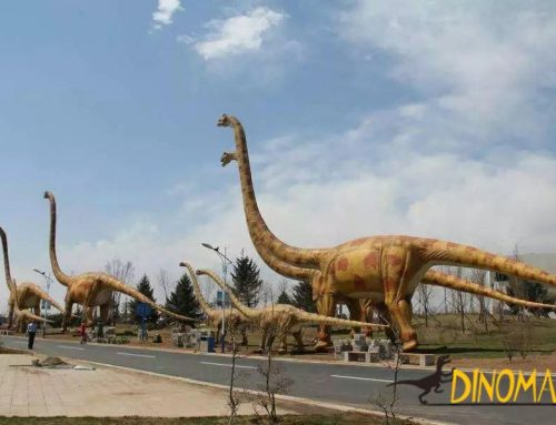 For outdoor playground theme park Animatronic dinosaurs