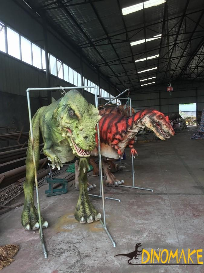 Four legs walking dinosaur costume for sale
