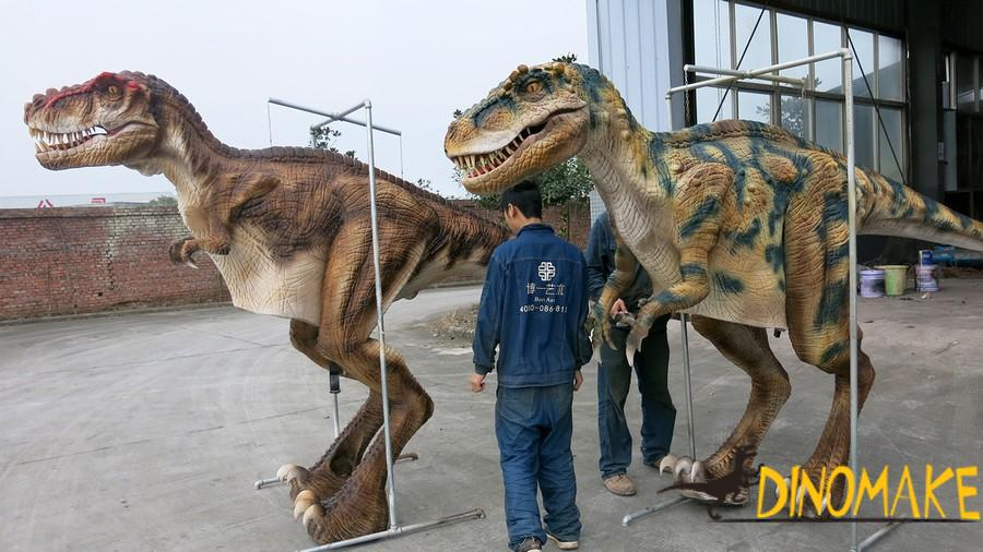 Four legs walking dinosaurs costume for sale
