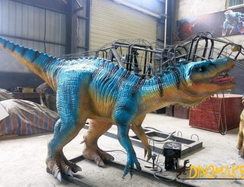 French customer orders Animatronic dinosaur