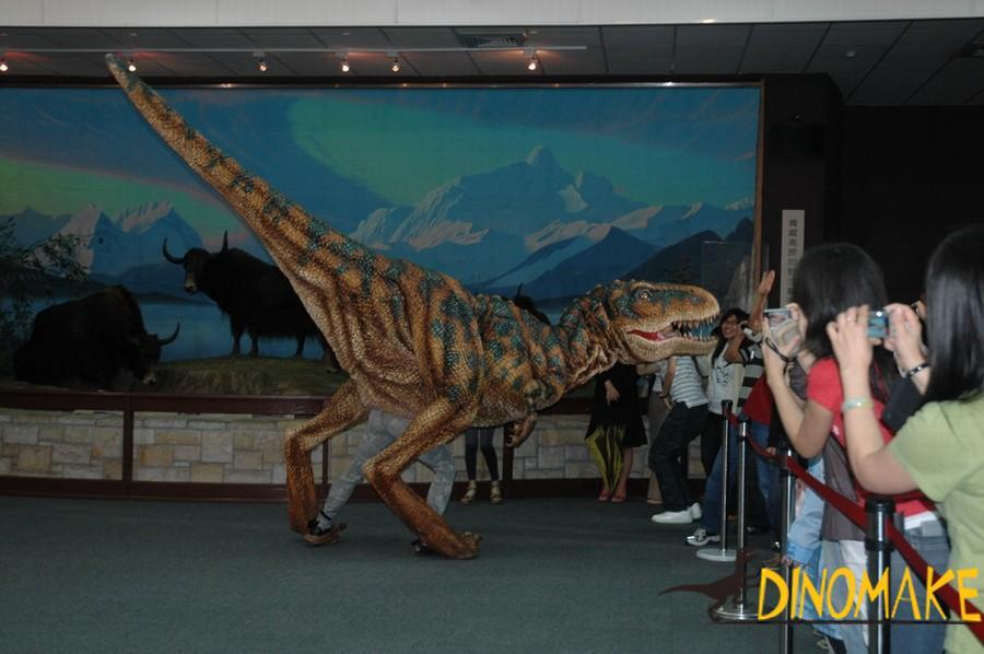 Giant Animatronic dinosaur costumes