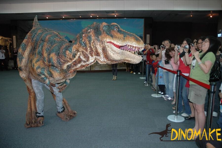 Giant Animatronic dinosaur suit