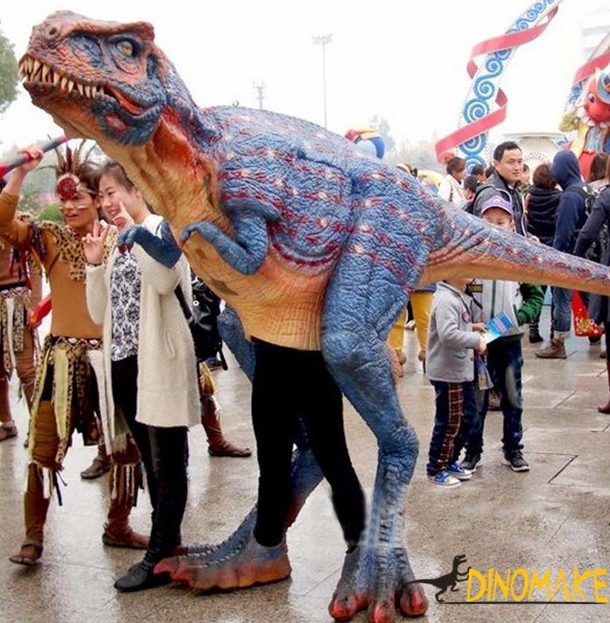 Handmade Animatronic Dinosaur T-Rex costume