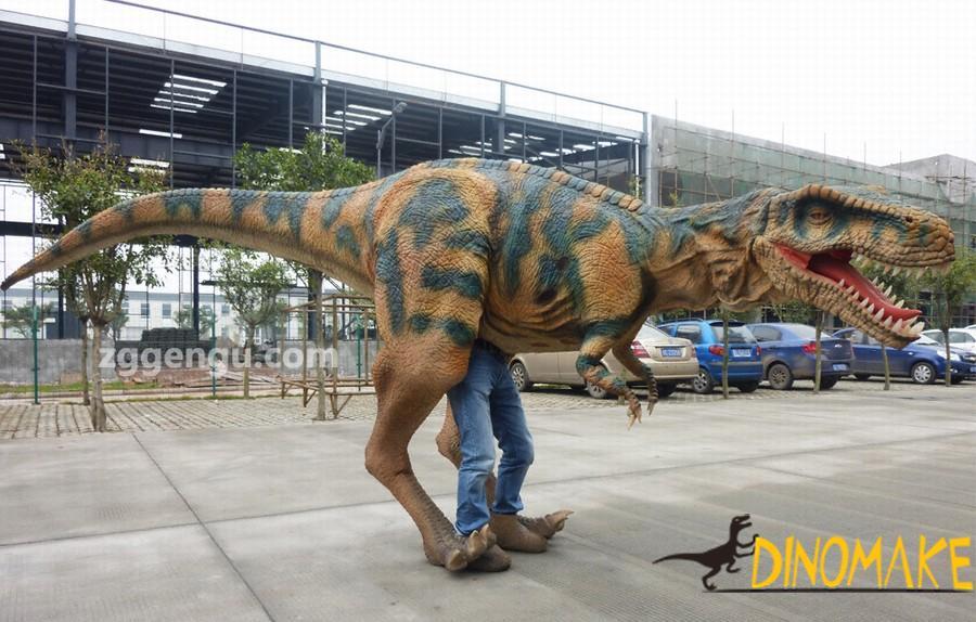 Handmade Real Animatronic Dinosaur Tyrannosaurus costume