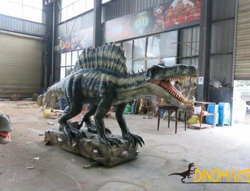 Life-size High Realistic Animatronic Dinosaur Spinosaurus dinosaur