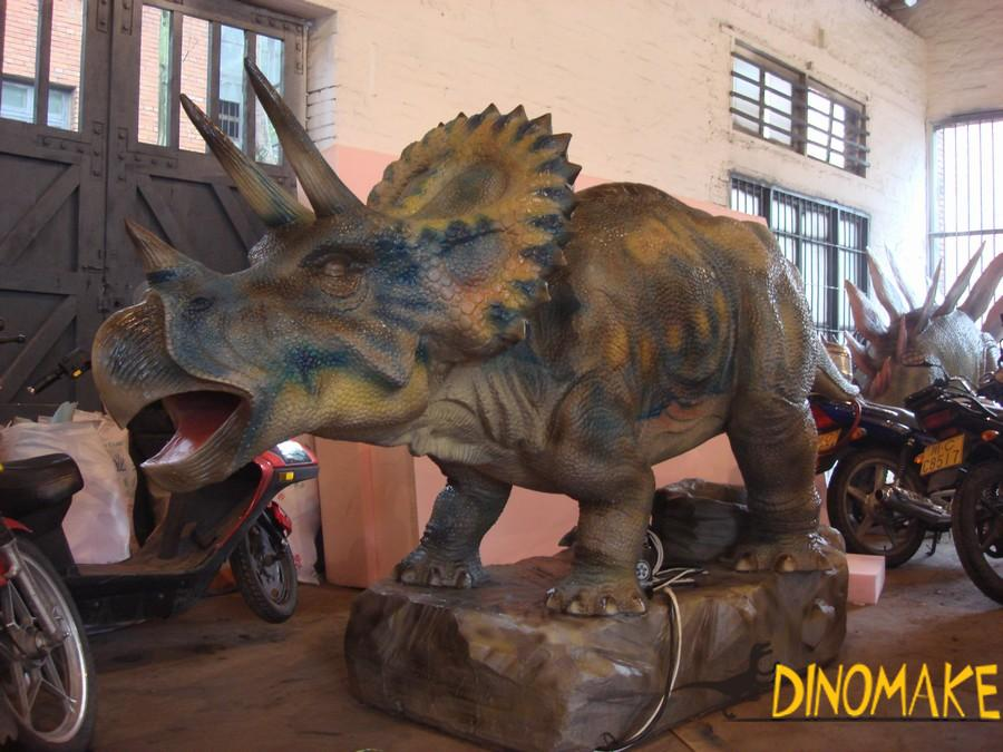 High quality Animatronic dinosaur model are shipped to theme parks