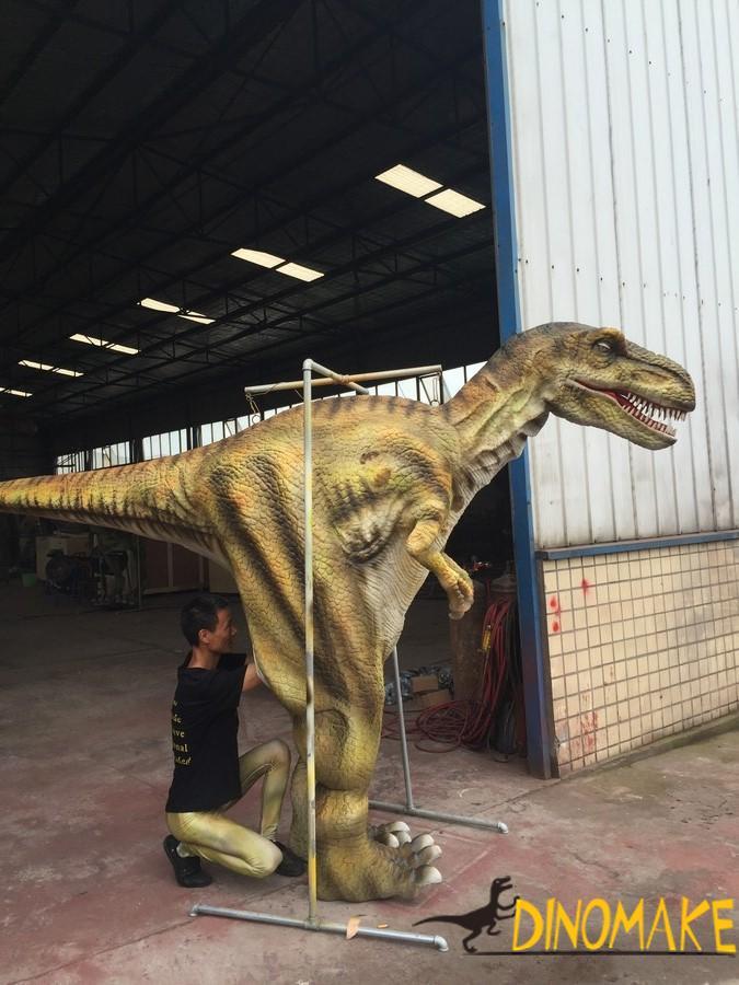 How to Make Walking Dinosaur Costume Prank