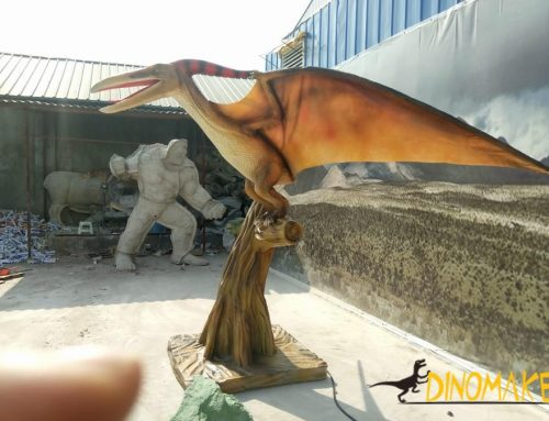 Indoor finished artificial simulation dinosaur pterosaur model