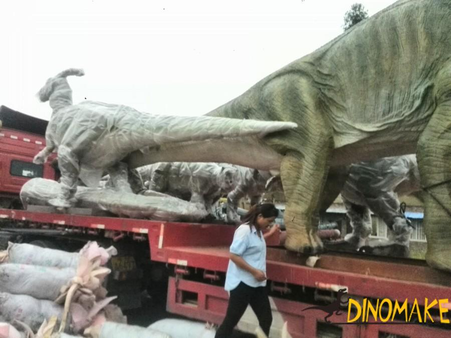 Jurassic Park Animatronic Dinosaur Model in the USA