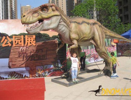 Jurassic Park Real Size T-rex Animatronic Dinosaur Robot
