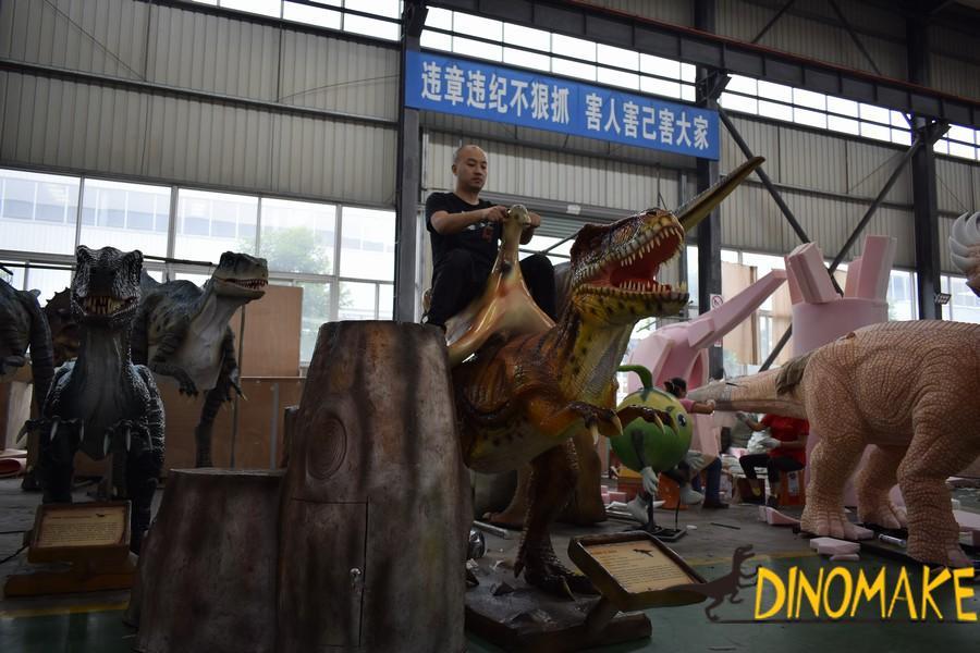 Jurassic Park Real Size T-rex Animatronic Dinosaur