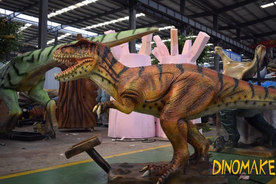 Jurassic World Park Animatronic Dinosaurs T-Rex