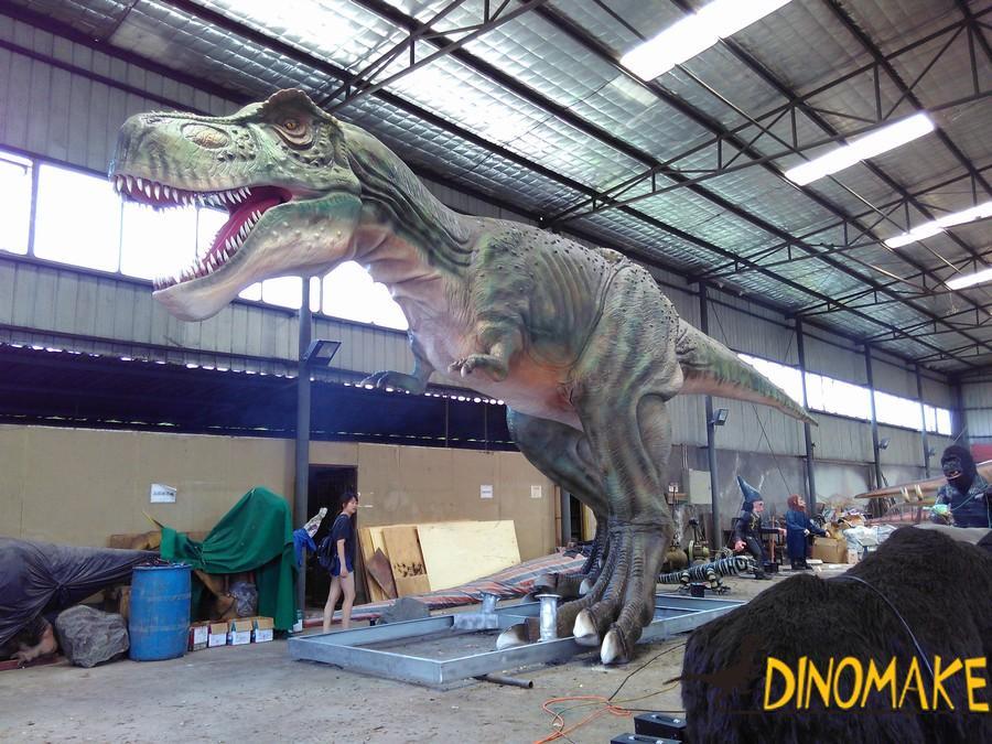 Large professional Animatronic dinosaur for children's entertainment