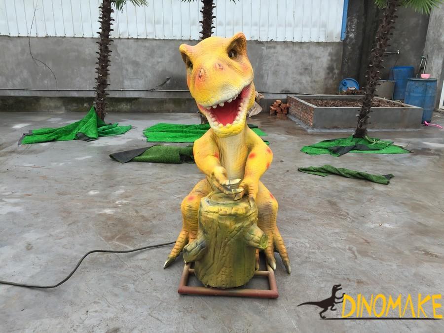 Large-scale prehistoric Animatronic dinosaur biology exhibition opens