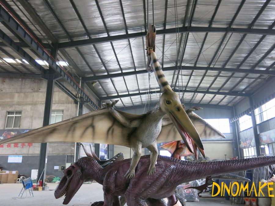 Life-size Animatronic Pterosaur flying Dinosaur model