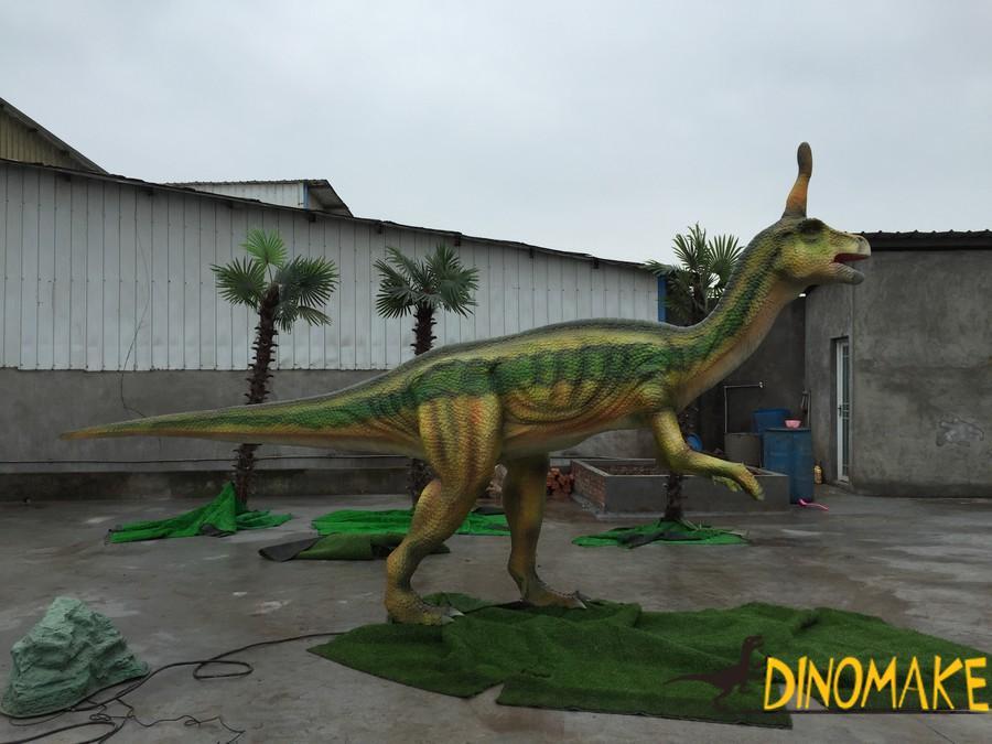Life-size Animatronic dinosaur Tsintaosaurus for sale